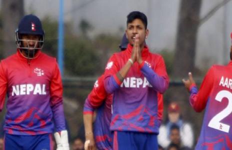 विश्वकप क्रिकेट लीग २ : अमेरिकामाथि नेपालको कीर्तिमानी जित