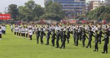सैनिक मञ्चमा मात्रै संविधान दिवस ?